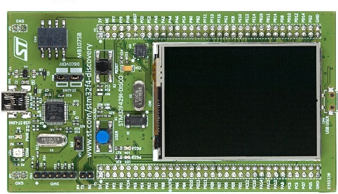The STM32F429 Discovery – ioprog